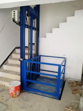 2层单轨货梯